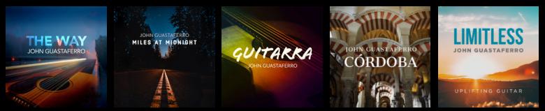 John Guastaferro Albums guitar music